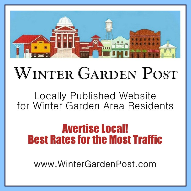 Winter Garden Post